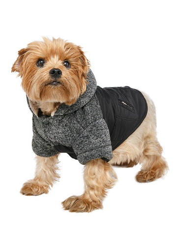 Cheviot Tweed Trimmed Parka - The Dog Demands, [product_dog accessories]