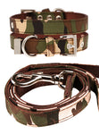 Camouflage Fabric Collar & Lead Set - The Dog Demands, [product_dog accessories]