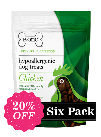 Hypoallergenic Dog Treats - Chicken (Six Pack) - The Dog Demands, [product_dog accessories]