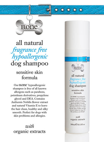All Natural Hypoallergenic Dog Shampoo (300ml) - The Dog Demands, [product_dog accessories]