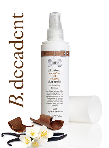 All Natural Chocolate & Vanilla Dog Spritz (200ml) - The Dog Demands, [product_dog accessories]