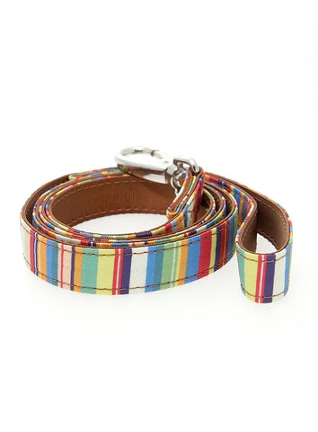 Henley Striped Fabric Lead - The Dog Demands, [product_dog accessories]