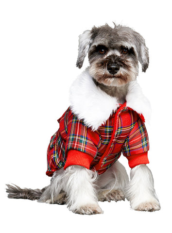 MacGregor Quilted Tartan Coat - The Dog Demands, [product_dog accessories]