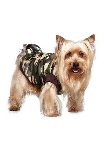 Forest Camouflage Bodywarmer - The Dog Demands, [product_dog accessories]