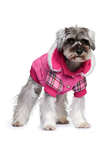 Highland Lady Quilted Tartan Coat - The Dog Demands, [product_dog accessories]