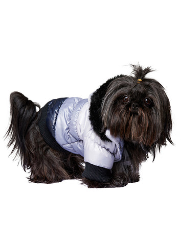 Thermo Grey / Black Quilted Parka - The Dog Demands, [product_dog accessories]