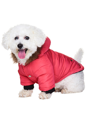 Salmon Pink Alpine Coat - The Dog Demands, [product_dog accessories]