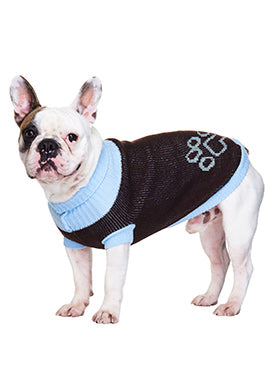Blue Paw Sweater - The Dog Demands, [product_dog accessories]