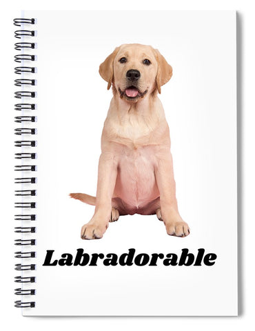 Labradorable - Spiral Notebook