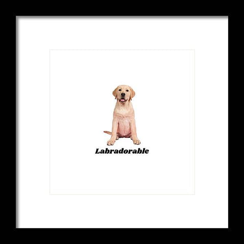 Labradorable - Framed Print