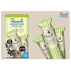 Pawsecco Freeze Pops. 6 x 50ml - Dog & Cat freeze polls/lollies ! - The Dog Demands, [product_dog accessories]