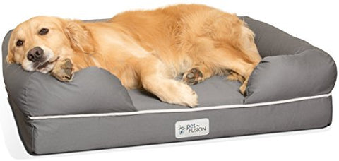 PetFusion Ultimate Solid 10cm WATERPROOF Memory Foam Dog - The Dog Demands, [product_dog accessories]
