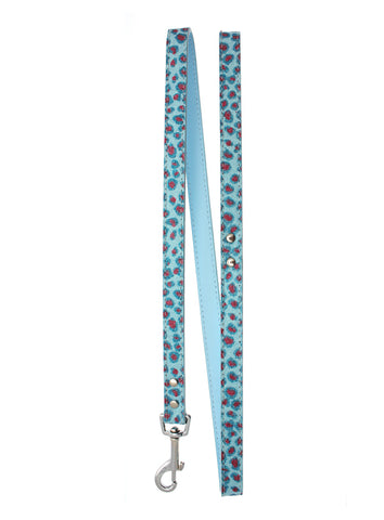 Handcrafted Cool Blue Bling Lead - The Dog Demands, [product_dog accessories]