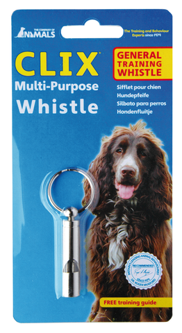 Clix Multi-Purpose Whistle - The Dog Demands, [product_dog accessories]