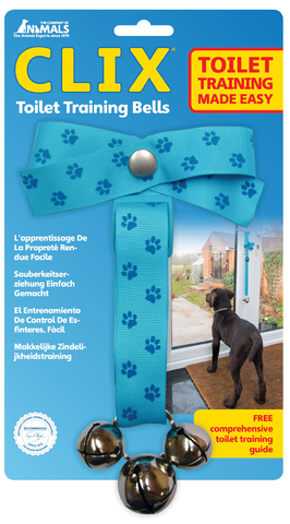 Clix Toilet Training Bells - The Dog Demands, [product_dog accessories]
