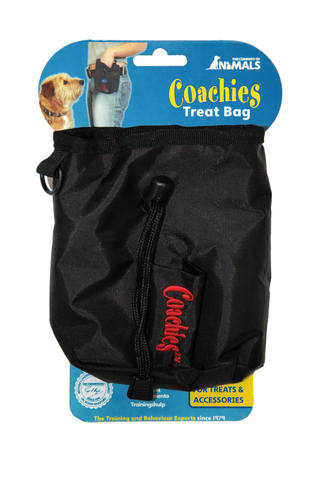 Coachies Treat Bag Black - The Dog Demands, [product_dog accessories]