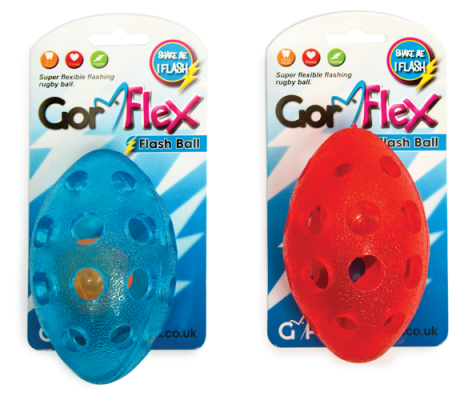 Gor Flex Flash Ball (13.5cm) - The Dog Demands, [product_dog accessories]