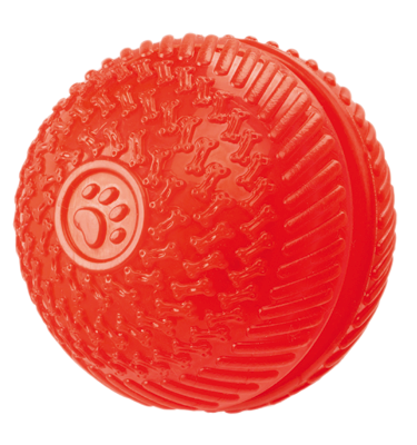 Gor Flex Squeak &Treat Ball (8cm) - The Dog Demands, [product_dog accessories]