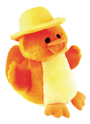 Gor Hugs Quack Duckling (15cm) Yellow - The Dog Demands, [product_dog accessories]