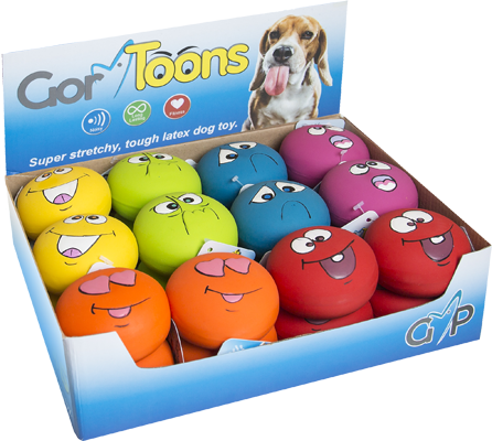 Gor Toons Funny Faces (6.5cm) - Price per item - The Dog Demands, [product_dog accessories]