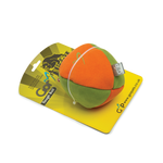 Gor Tough Ball (13cm) Orange/Green Mix - The Dog Demands, [product_dog accessories]