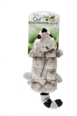 Gor Wild Multi-squeak Raccoon (30cm) - The Dog Demands, [product_dog accessories]