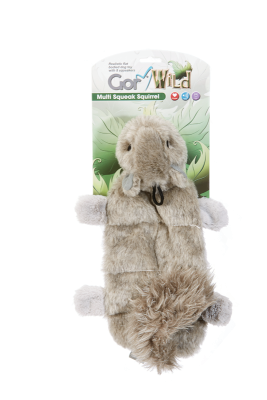 Gor Wild Multi-squeak Squirrel (30cm) - The Dog Demands, [product_dog accessories]