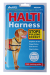 Halti Harness Black/Red - The Dog Demands, [product_dog accessories]