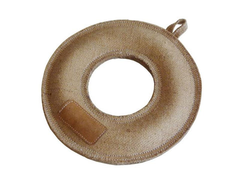 Jute Donut Bite Toy - The Dog Demands, [product_dog accessories]