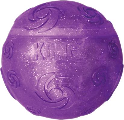 Kong Squeezz Crackle Ball Large - The Dog Demands, [product_dog accessories]