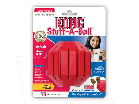 Stuff-A-Ball Treat Toy - The Dog Demands, [product_dog accessories]