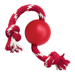 Kong Ball with Rope - The Dog Demands, [product_dog accessories]