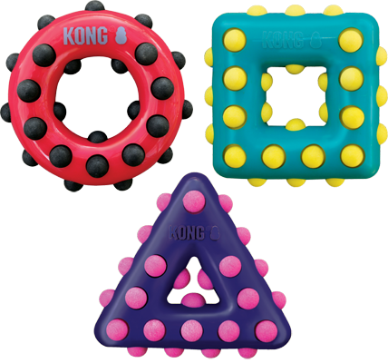 Kong Dotz Shapes - The Dog Demands, [product_dog accessories]