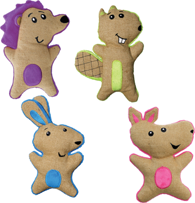 Kong Hemp Friends Assorted - The Dog Demands, [product_dog accessories]