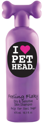 Pet Head Feeling Flaky 475ml Strawberry Yogurt - The Dog Demands, [product_dog accessories]