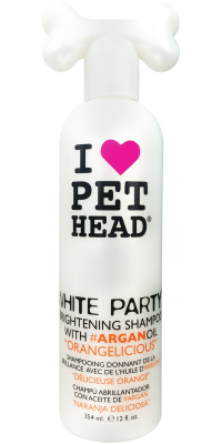 Pet Head White Party 354ml Orangelicious - The Dog Demands, [product_dog accessories]