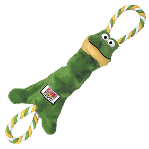 Kong TuggerKnots Frog Small/Medium - The Dog Demands, [product_dog accessories]