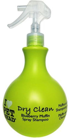 Pet HeadDRy Clean Spray 450ml Blueberry/Muffin - The Dog Demands, [product_dog accessories]