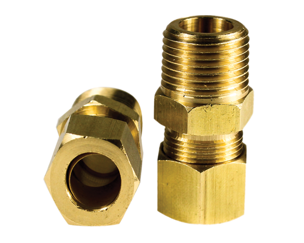Truck Smoker Element Brass Mounting Connector - Truck Smokehouse Parts