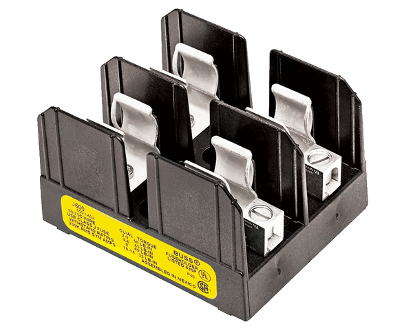 2 Pole Fuse Block 250 Volt - Smokehouse Parts