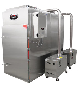 Model 1100 2-T Truck Series Smokehouse with Pellet Generators - Pro Smoker 'N Roaster