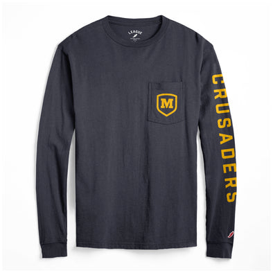 League Vintage Long Sleeve Pocket T-Shirt