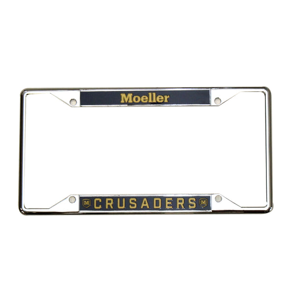 Moeller License Plate Frame