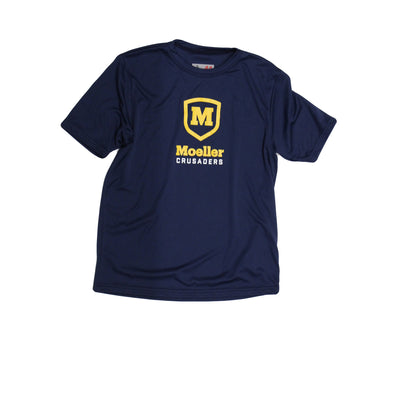 Ouray Youth Short Sleeve Navy T-Shirt