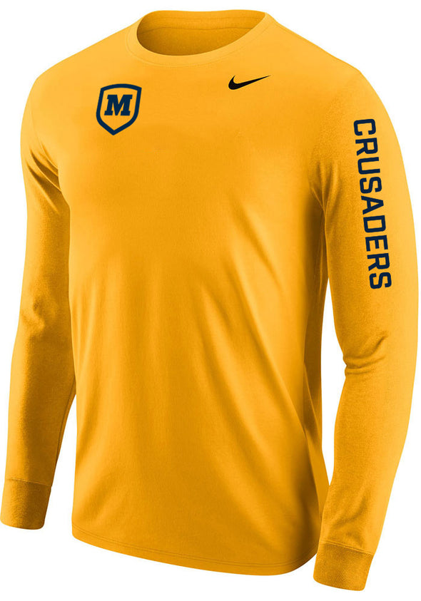 Nike Men's Long Sleeve Cotton T-shirt