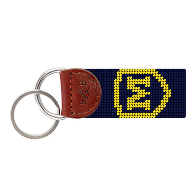 Samthers & Branson Needlepoint Key Fob