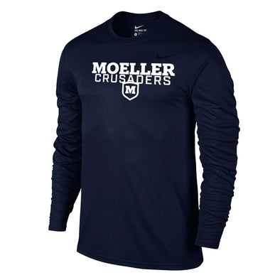Nike Long Sleeve T-Shirt - Navy