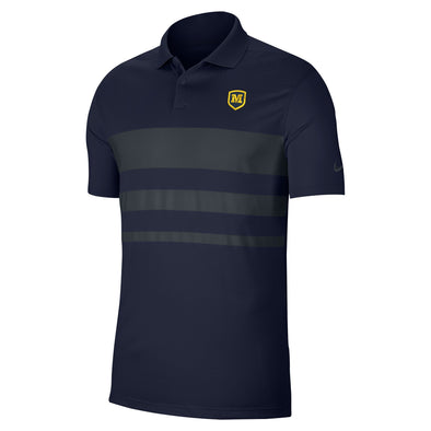 Nike Vapor Navy & Grey Polo with Dri-Fit