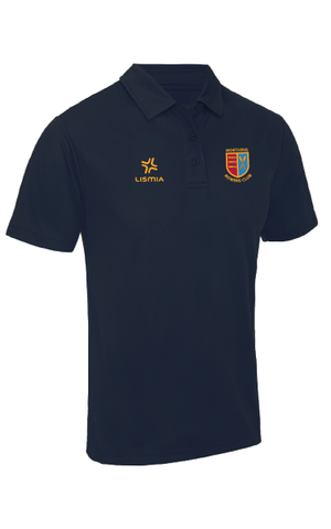Worthing Rowing Club Breathable Polo Shirt Navy