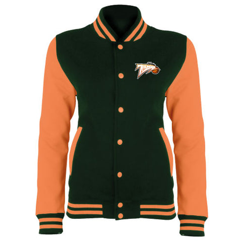 WHC Varsity Jacket Black/Orange
